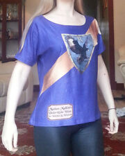 Harry Potter Ravenclaw Girls T-Shirt Medium UK 10-16 Blue
