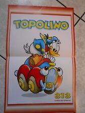 313 la mitica auto di PAPERINO poster locandina edicola - cm.28x44