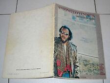 Spartiti ANTONELLO VENDITTI Sotto la pioggia Vocal chords 1983 songbook spartito