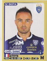 PANINI FOOTBALL 2015 SC BASTIA GAEL DANIC