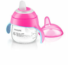 Philips Avent Scf751/07 Beaker With Drinking Spout From 6 Months 200 Ml Pink