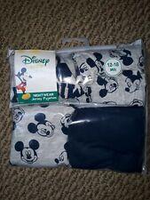 DisneyBaby 2 pair pk Pyjamas MickeyMouse Navy/Grey Size 12-18mths Christmas Gift