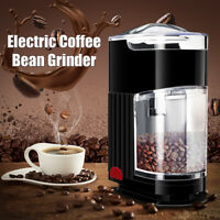 New Automatic Electric Coffee Grinder Burr Mill Machine Espresso Bean Home Grind