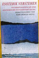Esoterik Verstehen - Anthroposophie - Edition Hardenberg  Freies Geistesleben