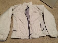 The North Face Jacket Women's  X small off white used good condition