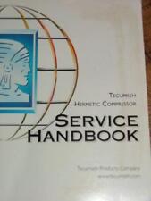 Tecumseh Hermetic Compressor Service Handbook