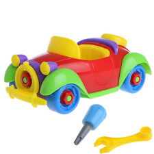Children Assembly DIY Helicopter Car Motorcycle Set Screw Kid Learning Game Toys