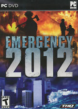 EMERGENCY 2012 - Fire Fighting Rescue Strategy Sim PC Game Windows XP/Vista/7