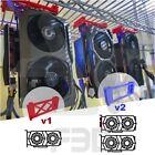 GPU Hanger RIG Mining Farm Crypto Bitcoin Ethereum 3D wire shelf clip hangers