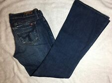Womens BLUE 2 Boot Cut Denim Blue Jeans - Made In California - Size 29 - EUC