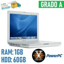 "Apple Ibook G4 14 "" A1134 Mid 2005 Power PC RAM 1GB HDD 60GB Portable Retro"