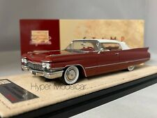 STAMP-MODELS 1/43 CADILLAC SERIES 62 CONVERTIBILE CLOSED COPPER MET 1960 STM6030