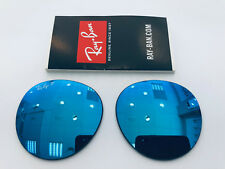 LENSES RAY-BAN ROUND METAL RB3447 112/4L 53 POLARIZED REPLACEMENT LENSES RB3447N