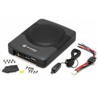 Macrom M-SW800 Subwoofer compatto per auto sub amplificato con telecomando
