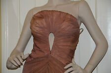 NEW Roberto Cavalli Couture Sexy Cut out PRINCESS GOWN DRESS 40