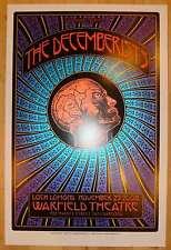 2008 The Decemberists - San Francisco Silkscreen Concert Poster by Dave Hunter