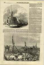 1848 Victoria Tower Guernsey Foundation Stone New Church St Paul Bermondsey