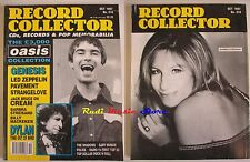 Rivista RECORD COLLECTOR Nr 218/1997 Oasis Genesis Led Zeppelin Streisand NO cd