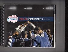 2013-14 LOS ANGELES CLIPPERS SEASON TICKET BOOK 60 GAMES INCLUDES PLAYOFFS PAUL