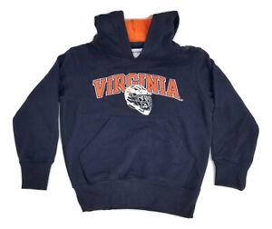 Champion Heritage UVA Virginia Lacrosse Pullover Hoodie Sweatshirt Kids Small