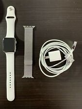 Apple Watch Series 2 42mm Stainless Steel Case with Milanese Loop & Sport Band