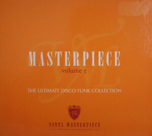 Masterpiece Vol. 5  - The ultimate disco funk collection  new  cd