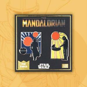 MANDALORIAN - PIN KINGS COLLECTIBLE PIN SET - BRAND NEW - STAR WARS PKS-MAN-1.3