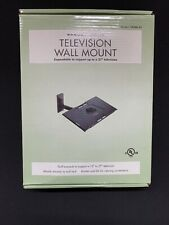 "SANUS TV WALL MOUNT EXPANDABLE 13""-27"" TV ROTATES AND TILTS TWMb-01 NIB"