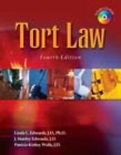 Tort Law Linda L Edwards Fourth Edition 4th CD Civil Law Paralegal Studies