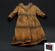 Custom 1/6 Scale Weathered Trench Coat For Hot Toys Advanced Muscular Body