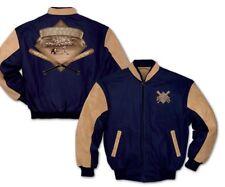 Bradford Exchange Vintage Uni Herren Jacke : für die Liebe von The Game BLAU M