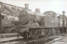 Black & White Photograph of former L.M.S.R. Stanier 4-4-0T No 41906 in BR livery