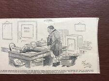 B9f Ephemera 1936 Original Cartoon Middleton The Fatted Calf