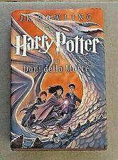 DONI DELLA MORTE tascaFelpa Con Cappuccio Harry Potter fantastico bestie libro film Fan