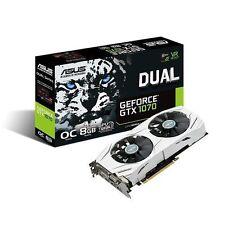 ASUS NVIDIA GeForce GTX 1070 8GB GDDR5 PCI Express Graphics Card (DUALGTX1070O8G)