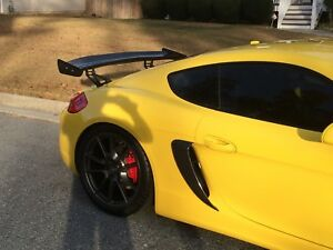 NEW ...... GT4 SIDE SCOOPS FOR 981 PORSCHE  NO LOGO