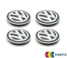 Original Volkswagen Golf Caddy Passat Touran Rueda Tapacubos 66MM 4PCS