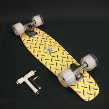 """Skateboard Maple timber 22""""x 6"""" Neon Yellow Deck + FREE T Tool CLEARANCE SALE"""