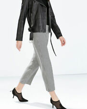 Zara High Wide Leg Tailored Trousers for Women