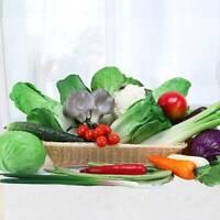 1/2PCS Artificial Vegetables Lettuce Faux Lettuce For House Kitchen Decor G9A