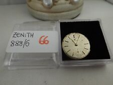 66 - Movimento zenith 888/6 con dial  working sold for parts or repair