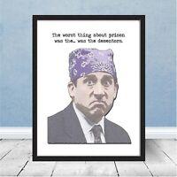 The Office Prison Mike worst part Dementors Michael Scott Dunder Mifflin Gift