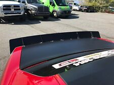 08-18 Dodge Challenger Pro Touring Racing AutoX Rear Decklid Spoiler Black