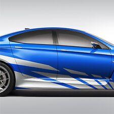 2x Seitenstreifen 300cm Seitenaufkleber Streifen Dekor Auto Aufkleber Tuning S17
