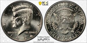 1994 P Kennedy Half Dollar PCGS MS63