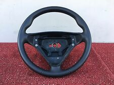 MERCEDES 2005-2007 W203 C-CLASS SPORT AMG STEERING WHEEL LEATHER BLACK OEM #002