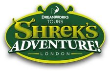 2 Tickets for Shrek's Adventure London or The London Dungeon - Choose Your Date