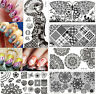 Nail Art Stamping Stamp Image Plates Stainless Steel Template Harunouta Series