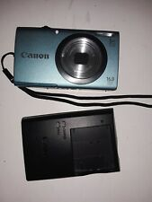 Canon PowerShot A2400 IS 16.0MP Digital Camera - Blue