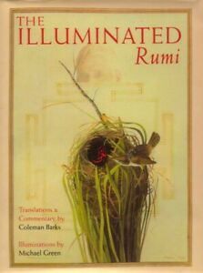 The Illuminated Rumi by Jalal Al-Din Rumi BOOK Poetry Sufi HC